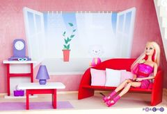 """Набор текстиля для розовых домиков серии """"Вдохновение"""""""