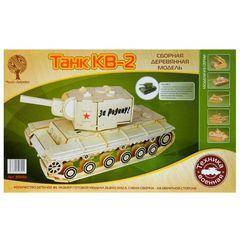 Сборная модель Танк КВ-2