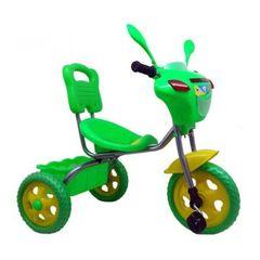 Трехколесный велосипед Светлячок, зеленый