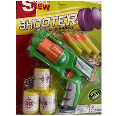 Игрушечный пистолет Shooter с мягкими пулями