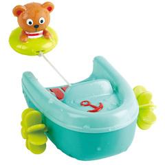Игрушка для купания Мишка на тюбинге