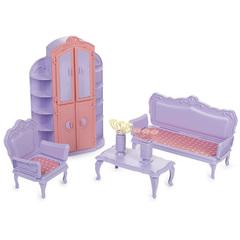 Кукольная мебель для домика гостиная