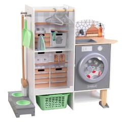 Кухня и прачечная 2-в-1 с набором из 10 аксессуаров