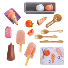 Игровой набор Фруктовое мороженое