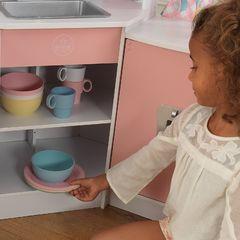 Игровая угловая кухня, цвет Делюкс